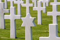 Colleville, American Cemetery, Star of David1038273a