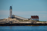 Isles of Shoals, White Island Lighthouse160-4406