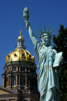 Des Moines, State Capitol, Liberty Statue V0824244