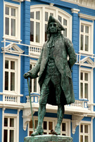 Bergen, Holberg Statue V1043717a