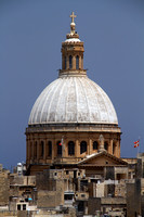 Valletta, Cathedral Dome V1025761a