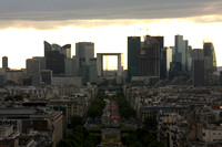 Paris, Arc de Triomphe, View, La Defense0940677