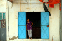 Northern Tunisia, Woman in Doorway1025944a