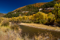 San Juan Skyway, Dolores R Valley, Fall Foliage131-8369
